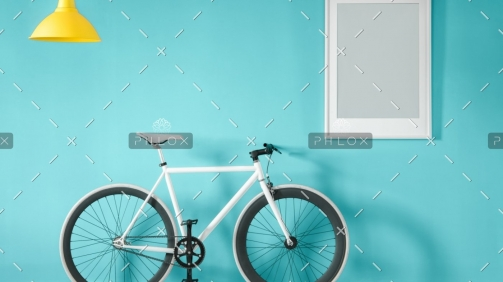 demo-attachment-45-white-bike-in-blue-interior-PMNFYVU